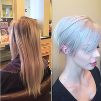 TRANSFORMATION: Uninteresting To Chopped And Icy White